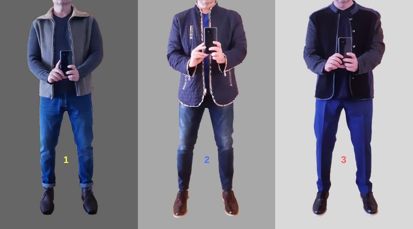 "03 looks legais e acessíveis, estilo ""casual blue"""
