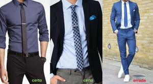 Altura certa da gravata