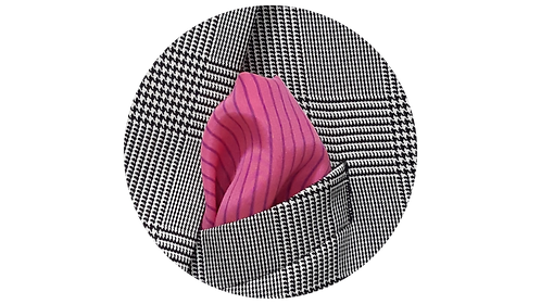 LENÇO 2 | seda rosa