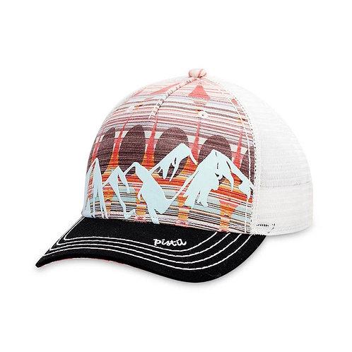 Sunset snap back hat