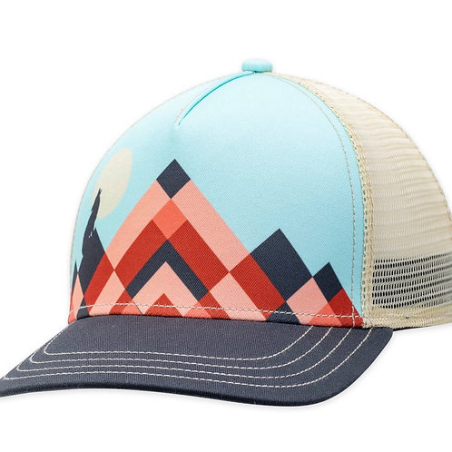 Howl at the moon snap back hat