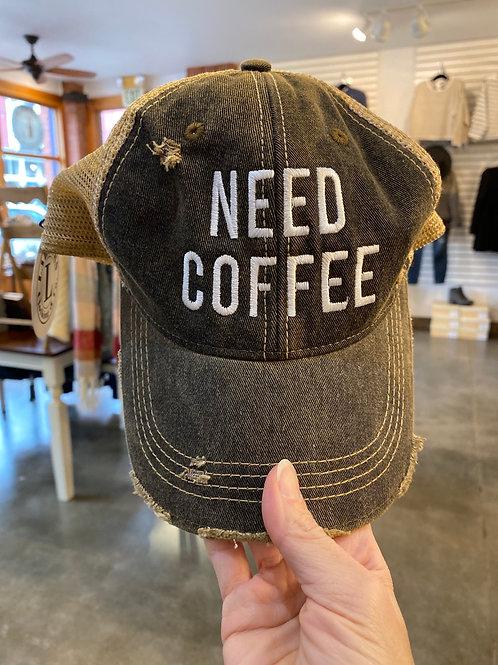 Need Coffee hat