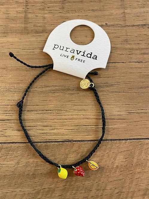 Fruity Charm bracelet
