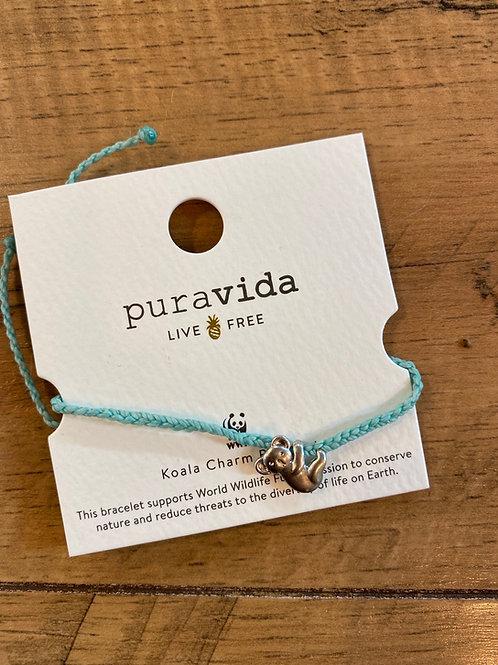 Koala charm bracelet