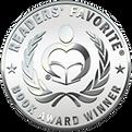 silver-shiny-web readers favorite sticke