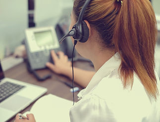 close up headphone asian girl response a