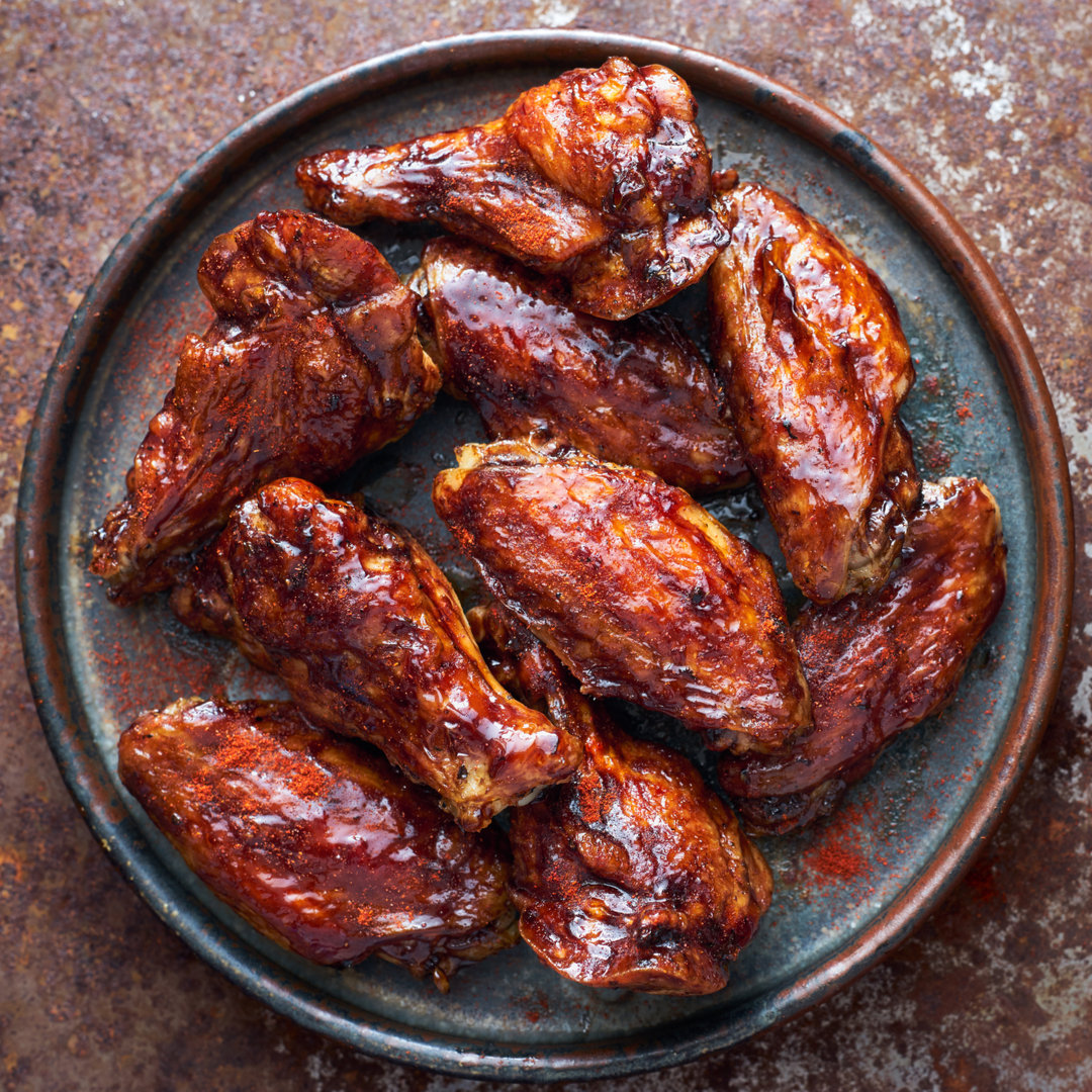 Teriyaki Honey Chicken Wings