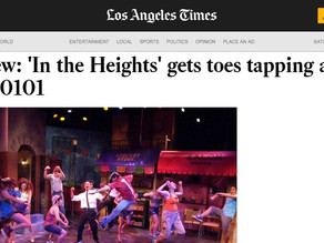 'In the Heights' gets toes tapping at Casa 0101