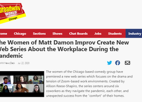 The Women of Matt Damon Improv Create New Web Series