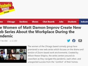 The Women of Matt Damon Improv Create New Web Series