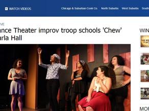 Annoyance Theater improv troop schools 'Chew' host Carla Hall
