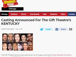 Casting Announced For The Gift Theatre's KENTUCKY