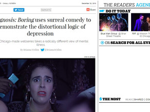 Diagnosis: Boring uses surreal comedy to demonstrate the distortional logic of depression