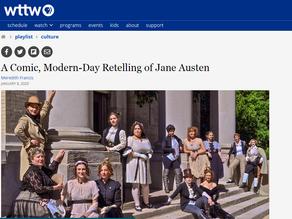 A Comic, Modern-Day Retelling of Jane Austen