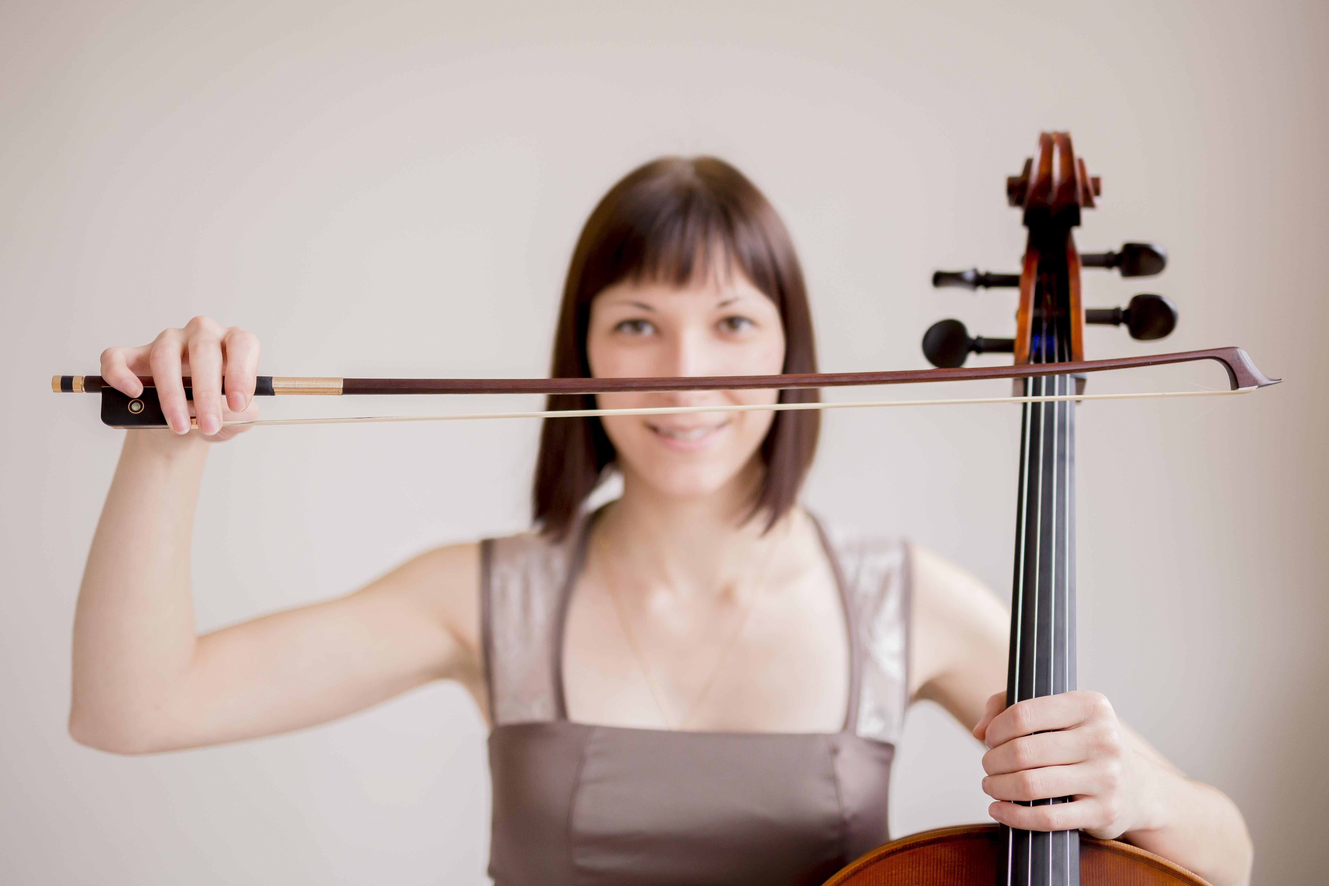 La violoncelliste - Karine Bouchard