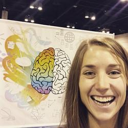 Jessica Salley Riccardi, MS CCC-SLP at ASHA 2019