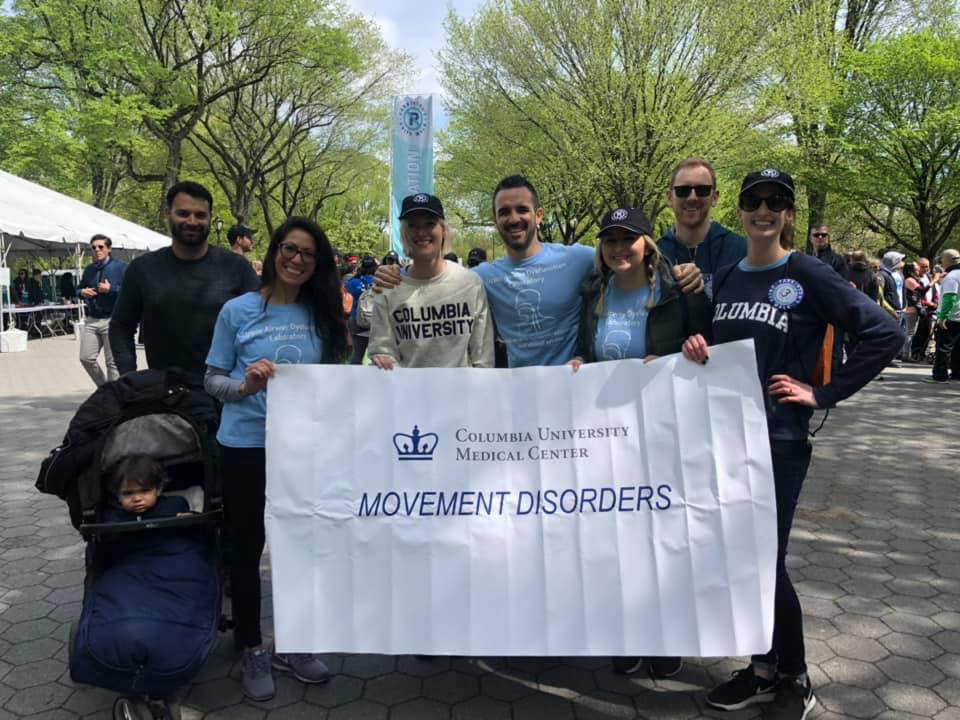 2019 Parkinson's Unity Walk in NYC
