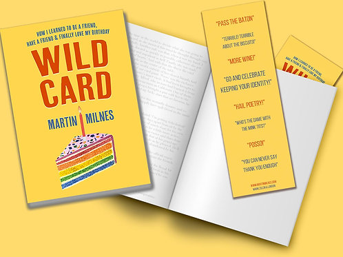 WILD CARD - Standard copy with bookmark, unsigned