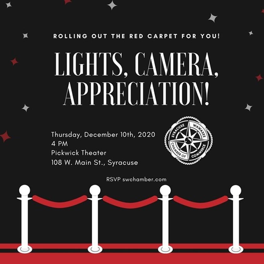 Lights, Camera, Appreciation!