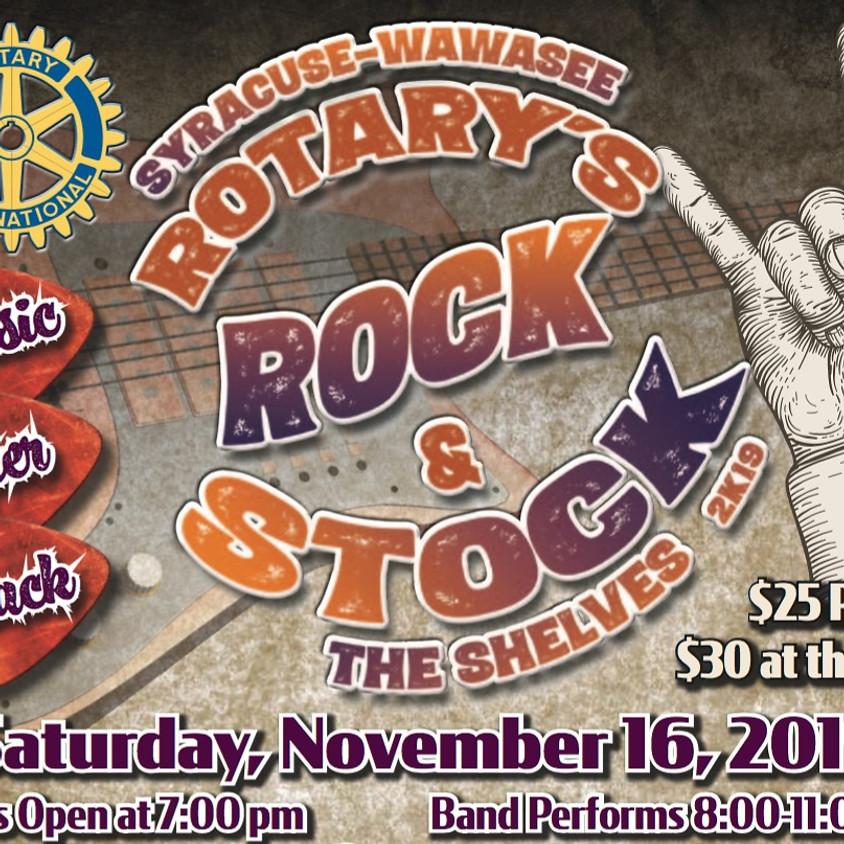 Syracuse-Wawasee Rotary - Rock & Stock The Shelves