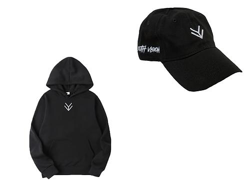Unseen Vision Hoodie & Hat Set