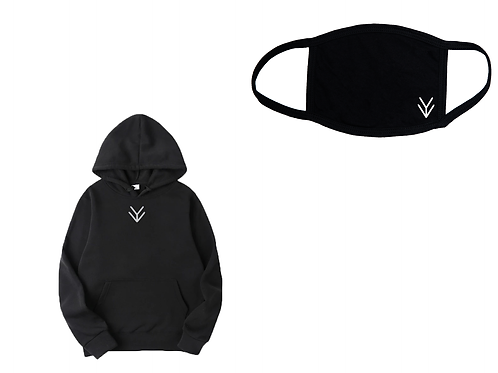 Unseen Vision Hoodie & Arrival Mask Set