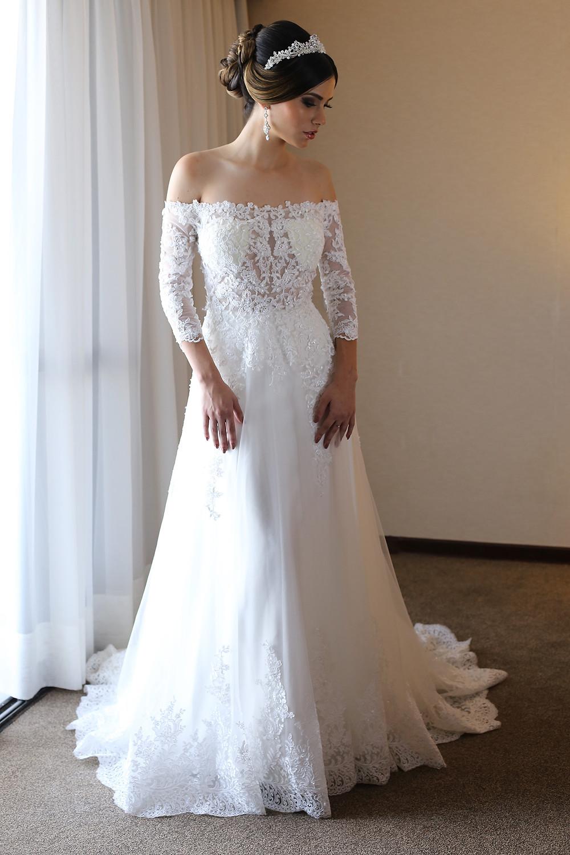 vestido de noiva fluido Brasília