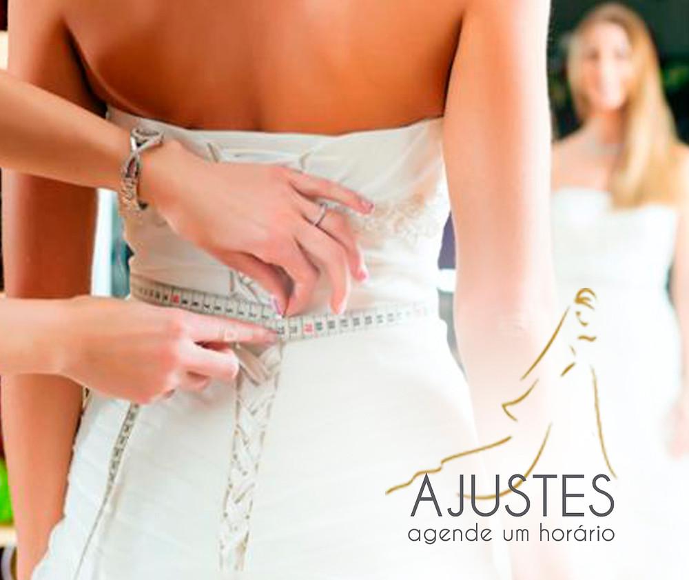 ajuste vestido de noiva
