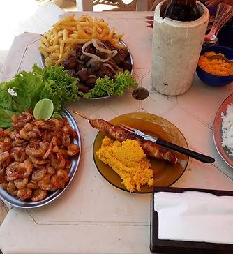 Pousada da Tina | Quiosque Gaivotas | Praia de Castelhanos | Anchieta | ES