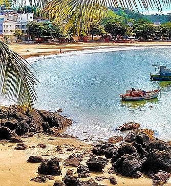 Praia Costa Azul - Anchieta - ES - Pousada da Tina