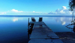 Dawn on Corozal Bay, Consejo Shores