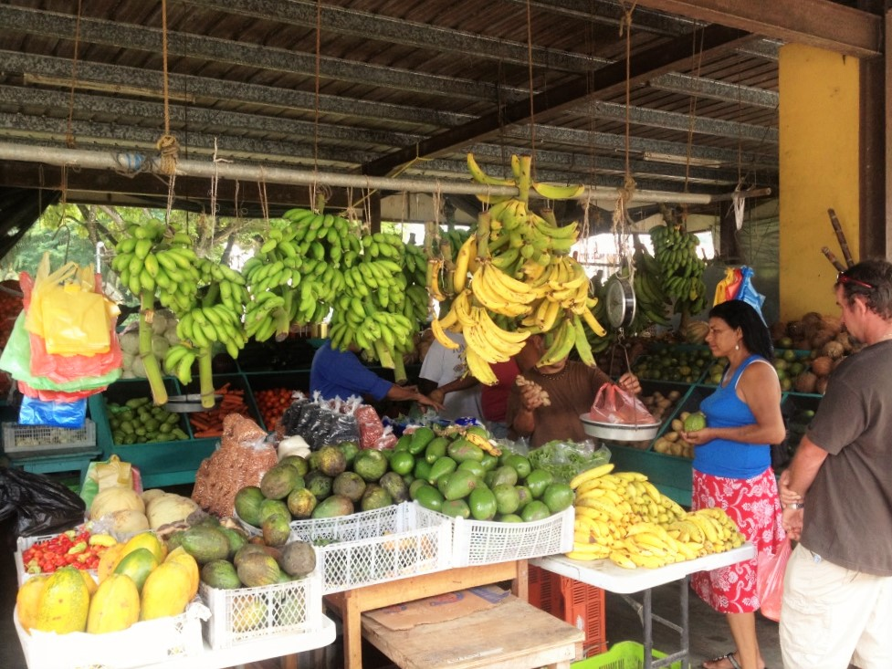 Local Market in Corozal, Belize