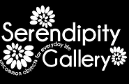 Serendipity Gallery logo and slogan