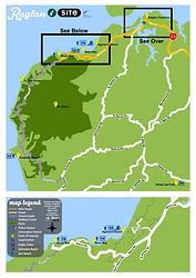 Raglan district area map
