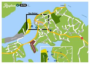 Raglan town Map