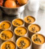 #vegan #lunch Pumpkin ginger , carrot, &