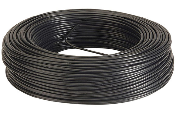 CABLE NEGRO 4 MM ROLLOX100MTS