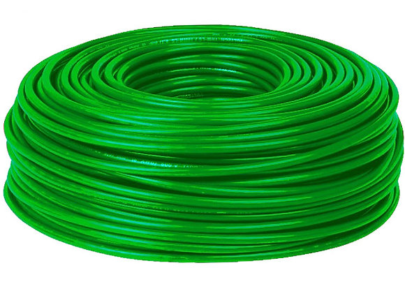 CABLE VERDE 4 MM ROLLOX50MTS