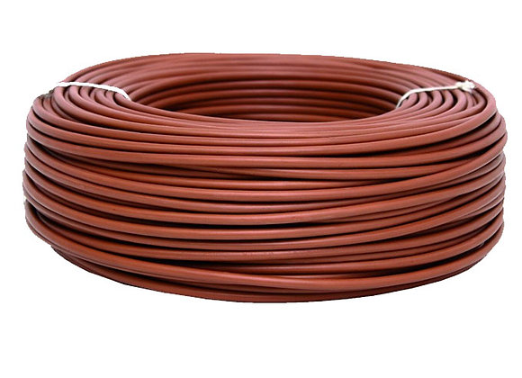 CABLE MARRON 2,5 MM ROLLOX100MTS