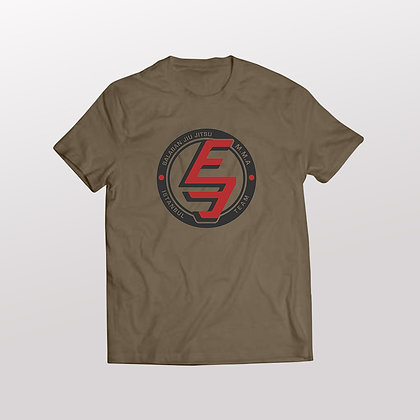 Balaban Jiu Jitsu T-Shirt / Haki