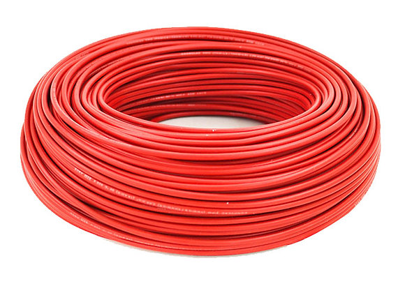 CABLE ROJO 1,5 MM ROLLOX100MTS