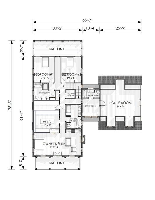 NVA Second Floor Plan