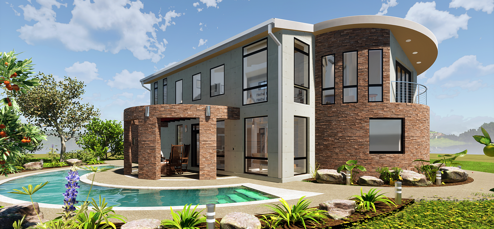 In need of rendering service? Contact us today!