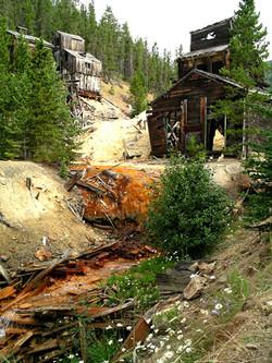 Silver mine near Monarch MT