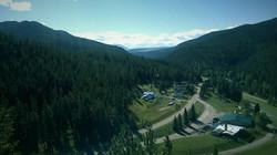 Cougar Canyon Lodge & Escape airel view Zach took