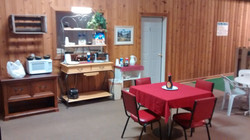 Breakfast and Common area in Lodge