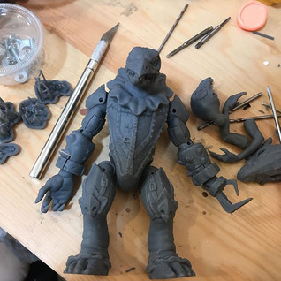Assembly and cleaning on SkekNa #skeksis