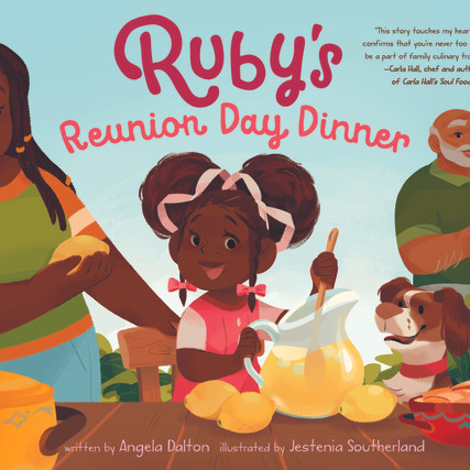 COVER REVEAL: RUBY'S REUNION DAY DINNER IS FINALLY HERE!
