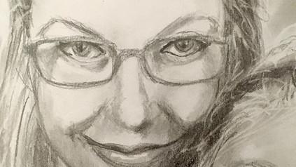 #portrait #graphite #mom #art @half_sock