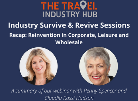 Reinvention In Corporate, Leisure and Wholesale
